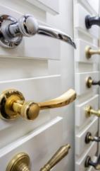 Lo&CoInteriors Brushed Brass Door Handles